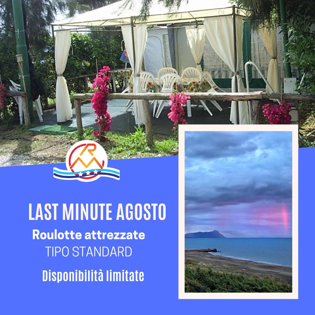 Offerte Soggiorni Camping Mese di Agosto - Camping Rio Martino Latina